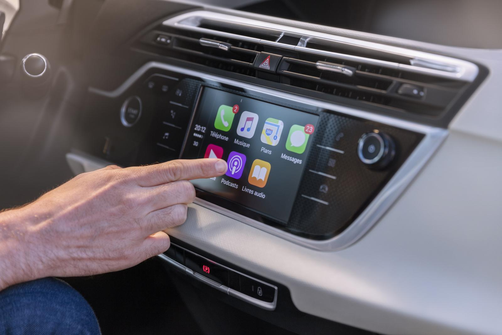 Grand C4 Picasso Shine 2016 tableau tactile